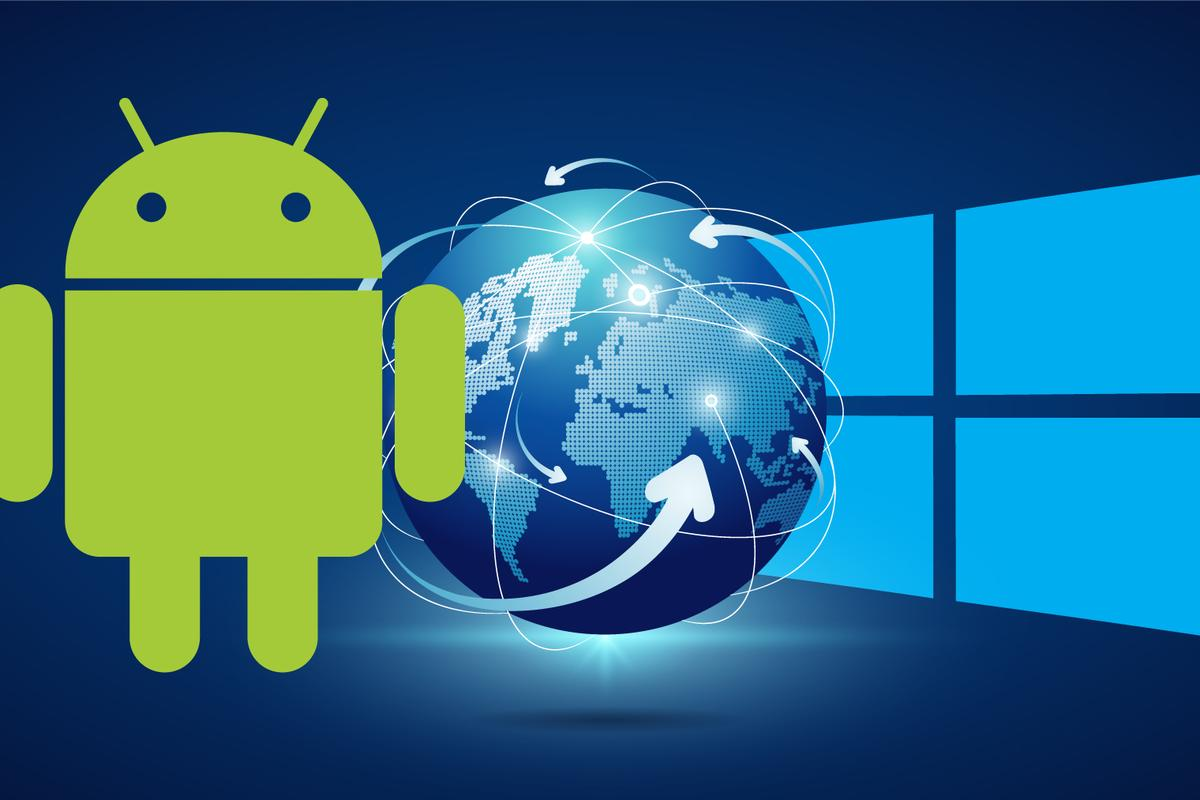 For the first time, there are more people worldwideusing Android devices than Windows computers toaccess the internet