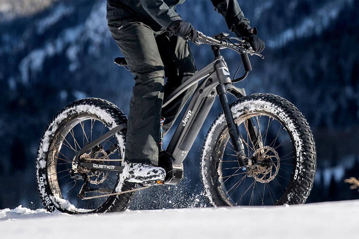 The Jeep ebike powered by QuietKat is due for release in June, 2020