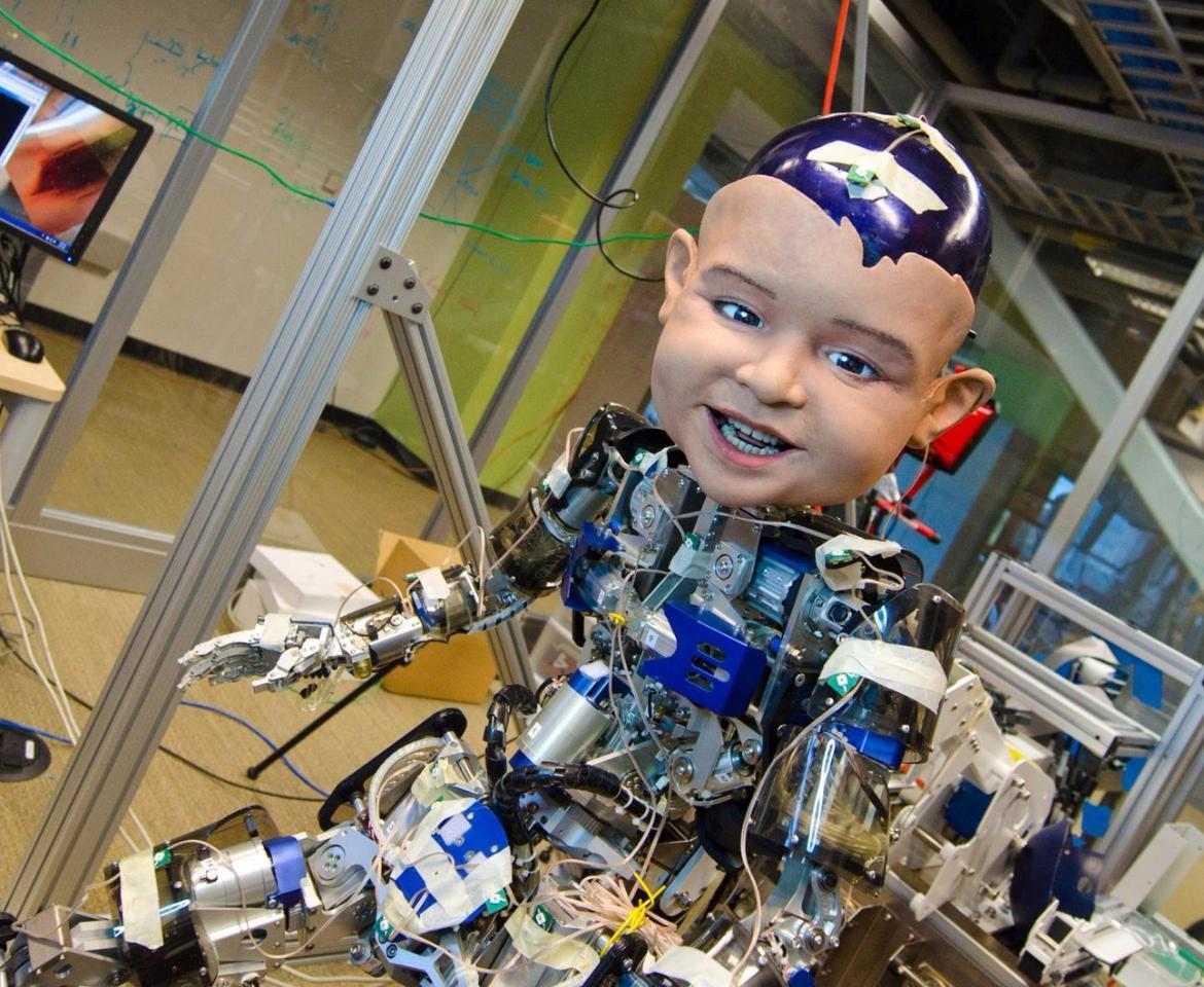 The Diego-san robot, which isn't creepy at all