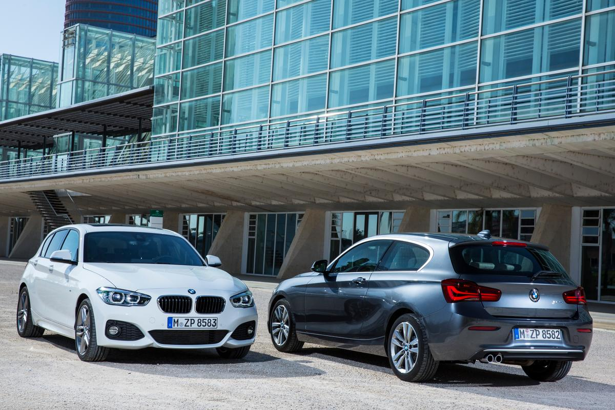 AN update to BMW's 1-Series sees a range of new three and four-cylinder engines on offer