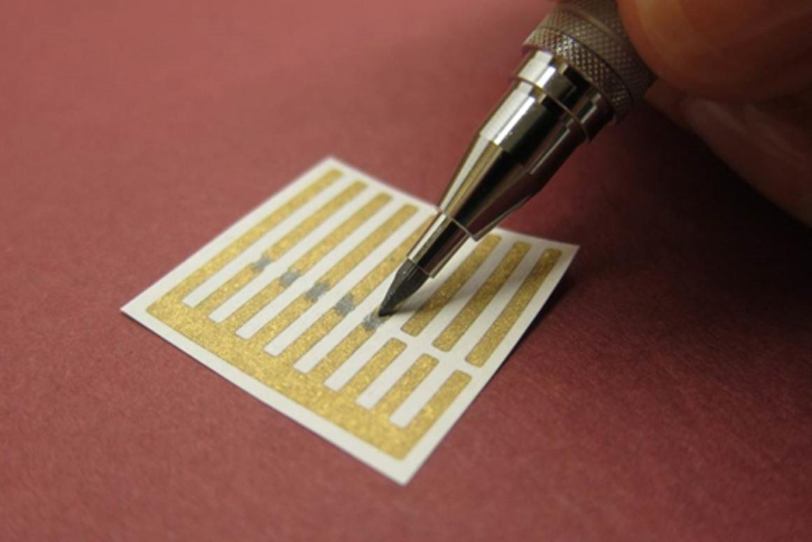 "MIT has developed pencil ""leads"" that can be used to draw gas sensors onto paper"