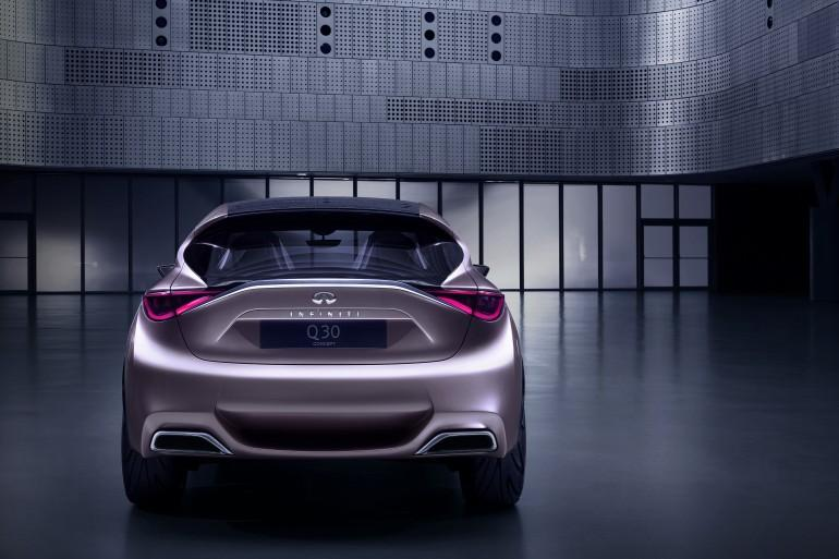 The Q30 Concept was displayed in 2013