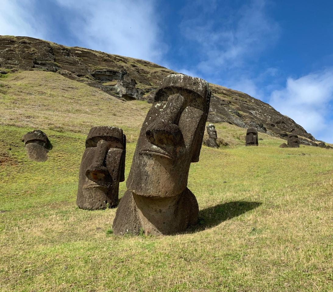 DNA samples for a new study included ones from inhabitants of Easter Island