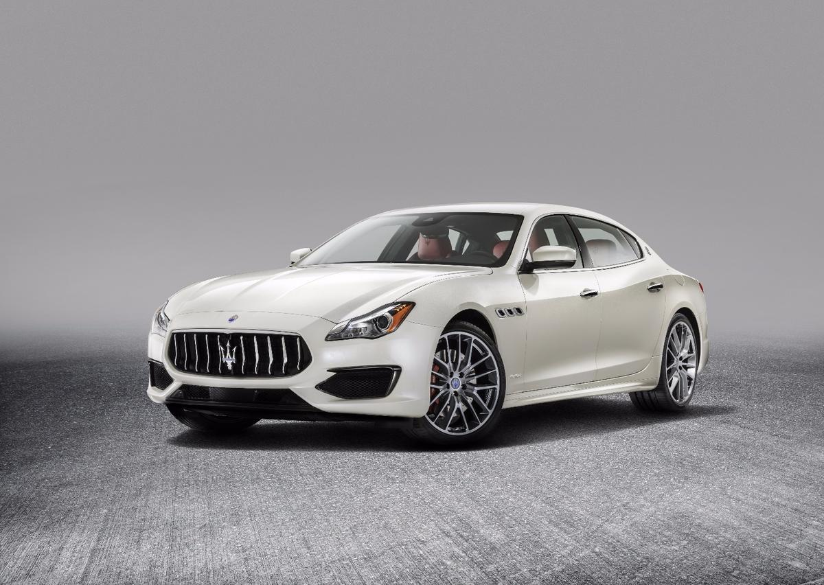 The refreshed Maserati Quattroporte