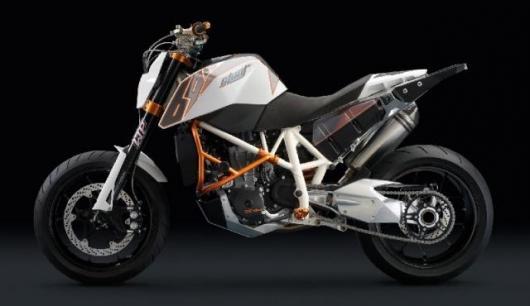 KTM's 690 Stunt