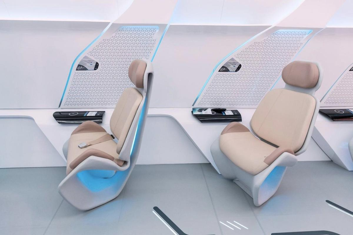 Images of Virgin Hyperloop One's prototype podshow a very spacious cabin