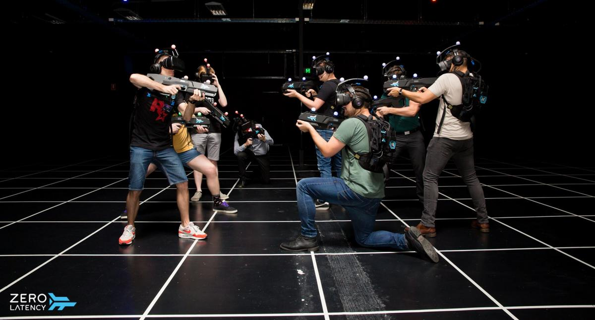Zero Latency has added a new competitive, player-vs-player game to its warehouse-scale VR technology
