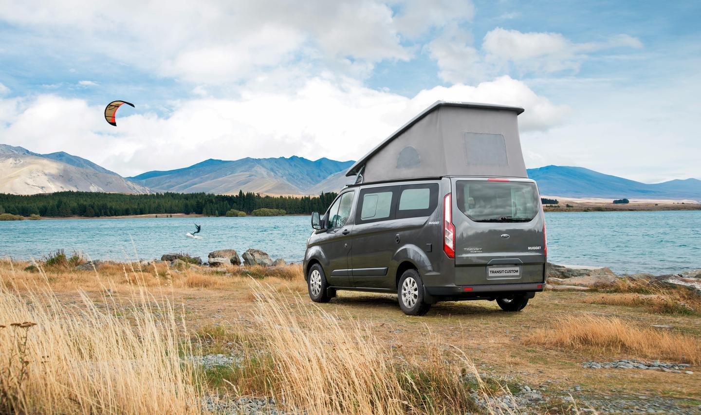 The Ford Nugget is small, but as Ford shows in its new video series, it can serve as a base camp for all kinds of adventure