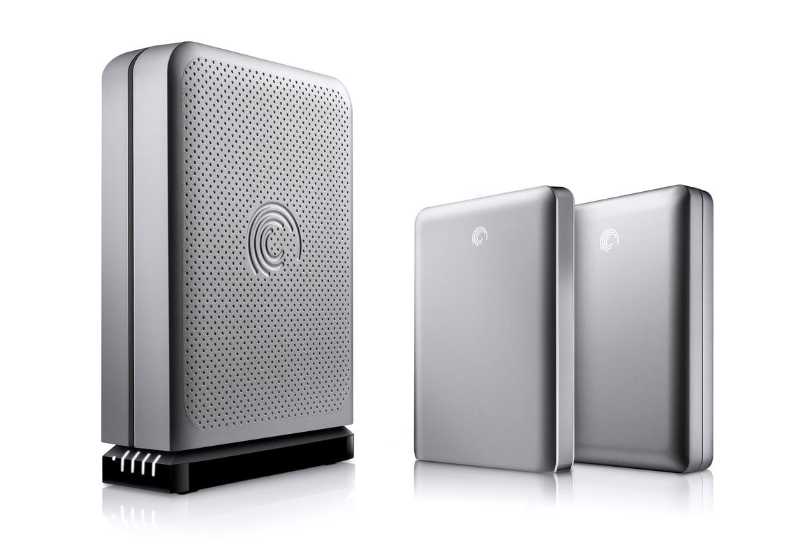 Seagate has added new members to its flexible FreeAgent GoFlex range of storage solutions, specifically aimed at Mac users