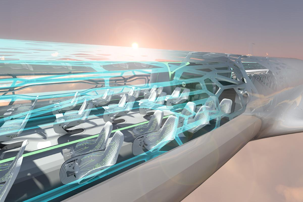 The Airbus Concept Cabin points to the future of air travel