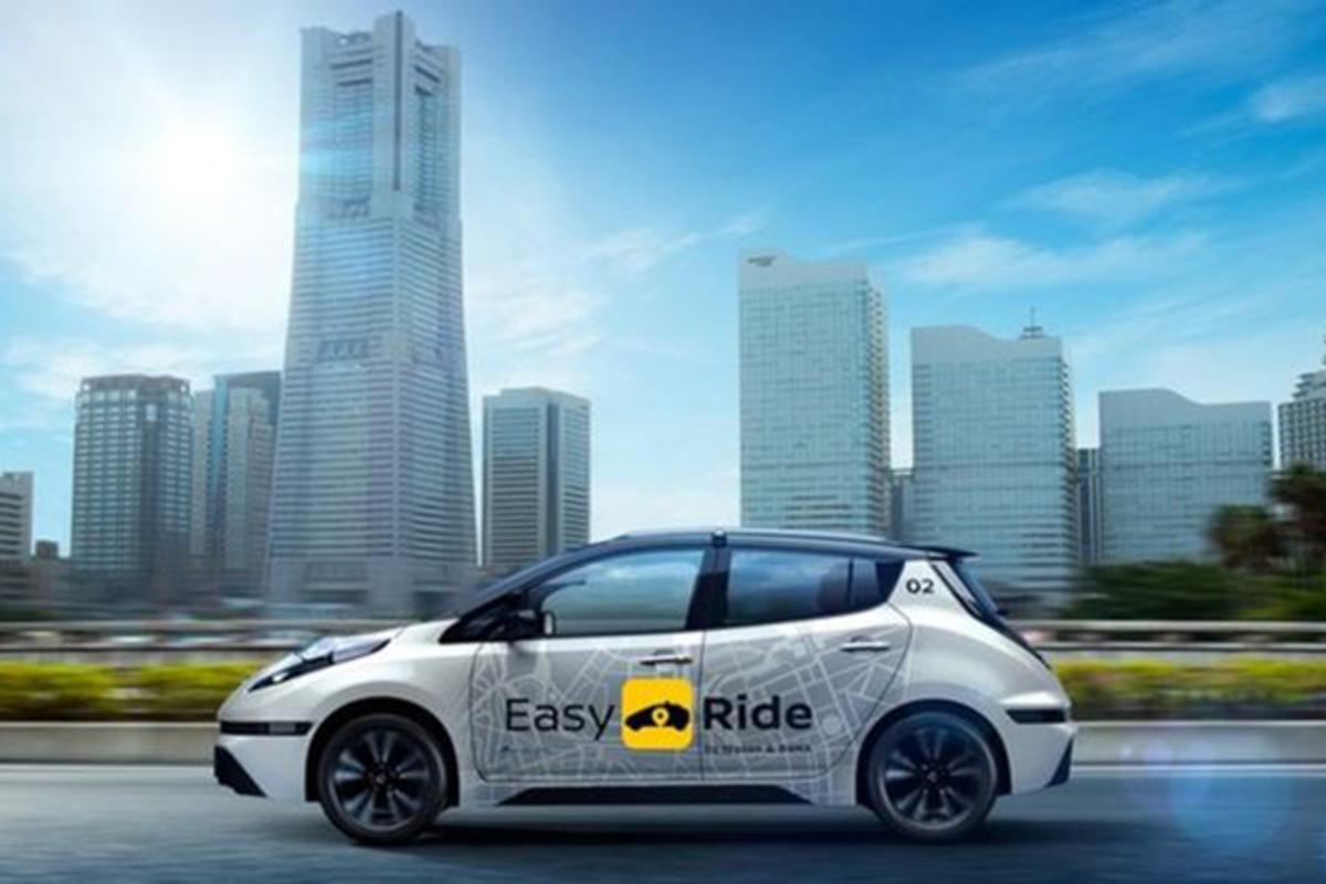 Nissan says its Easy Ride mobility service is intended to supplement existing transportation options