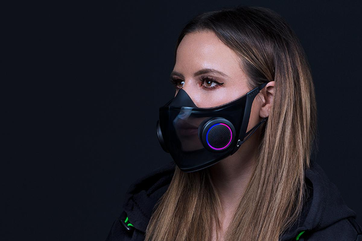 Called Project Hazel, Razer's tech-filled face mask concept is a sign mask-wearing is not going away any time soon