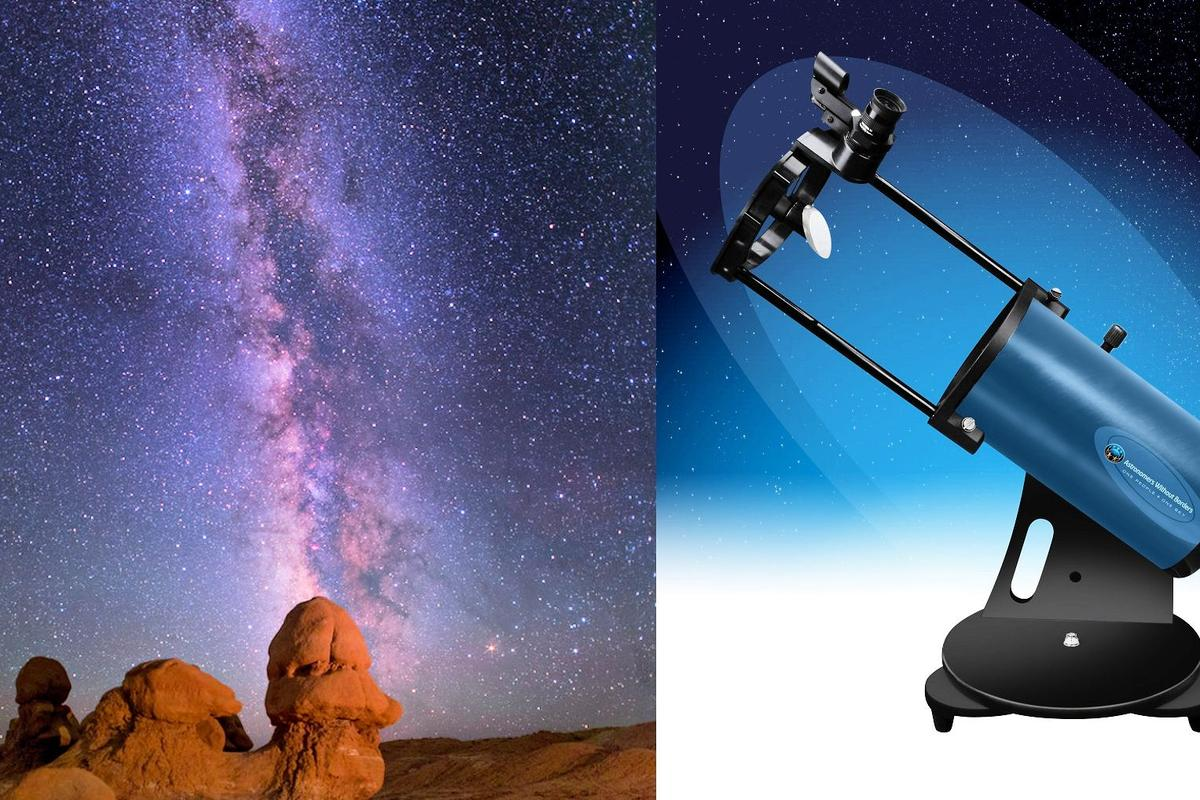 The AWB OneSky is aimed at beginners (Photo: Astronomers Without Borders)