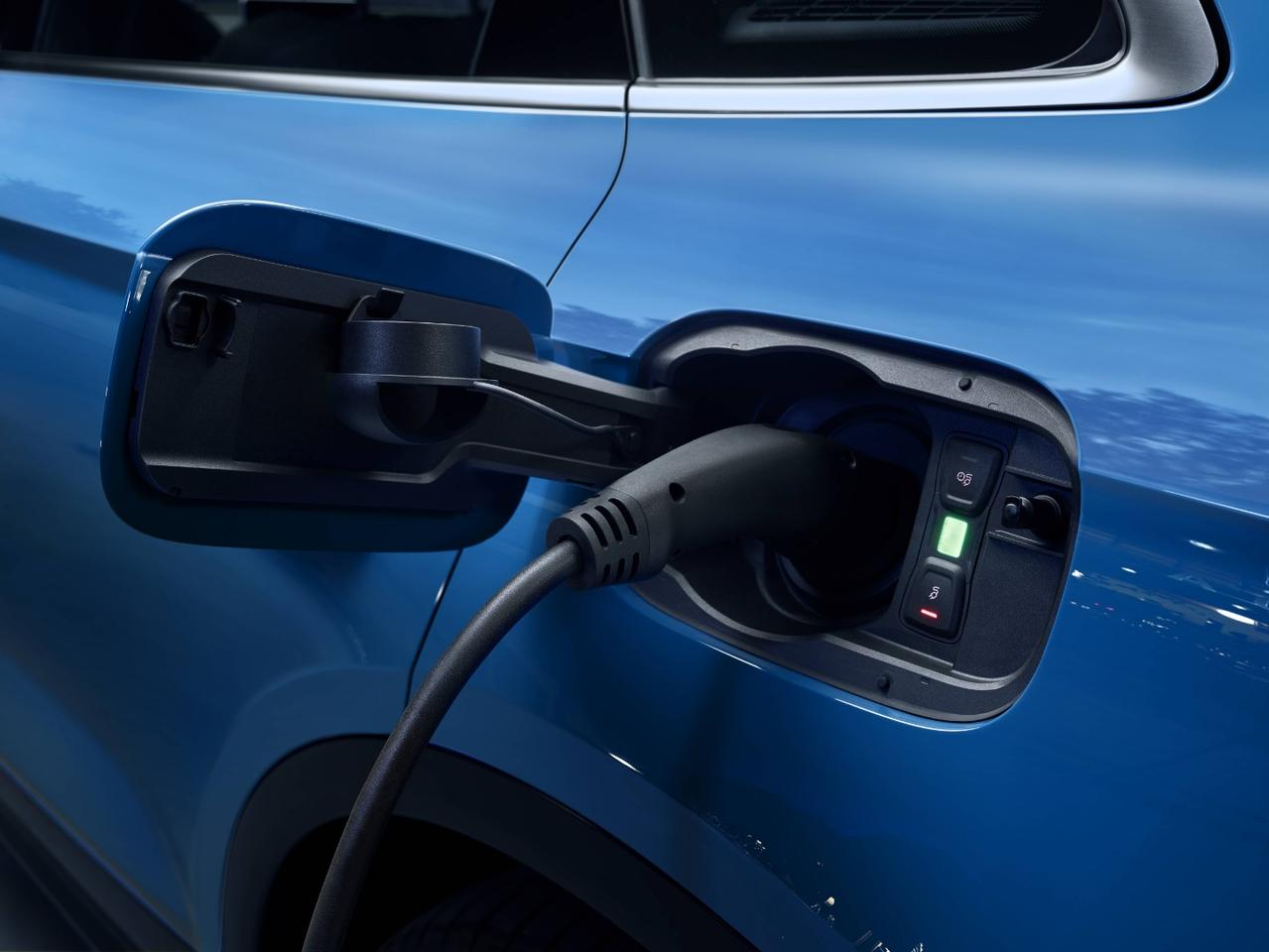 The Audi Q5 55 TFSI e Quattro charges in around six hours overnight off a wall charger