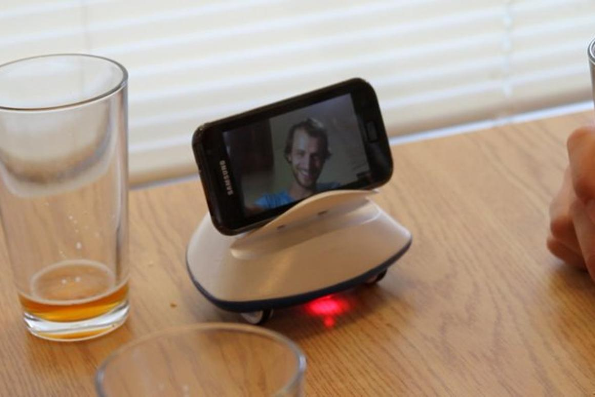 Botiful is a Skype-based telepresence robot, designed to work with Android smartphones