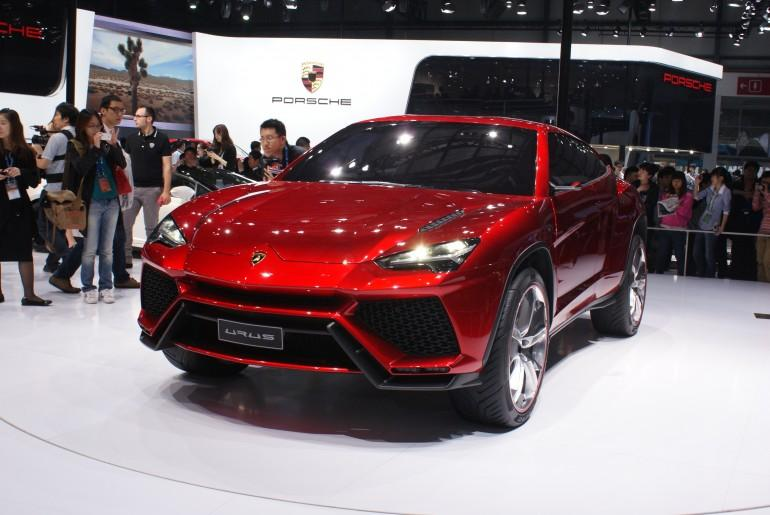 The 600-hp Urus concept at the 2012 Beijing Motor Show