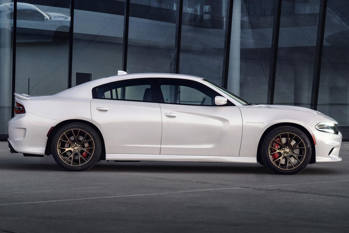 The Charger SRT comes several weeks after the reveal of the 2-door Challenger SRT