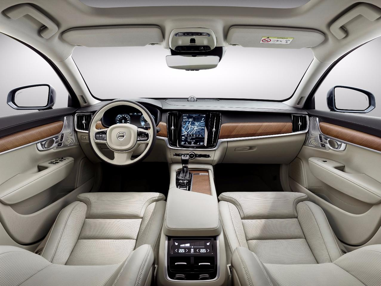 The car's cabin is all about an airy feel and high quality finishes