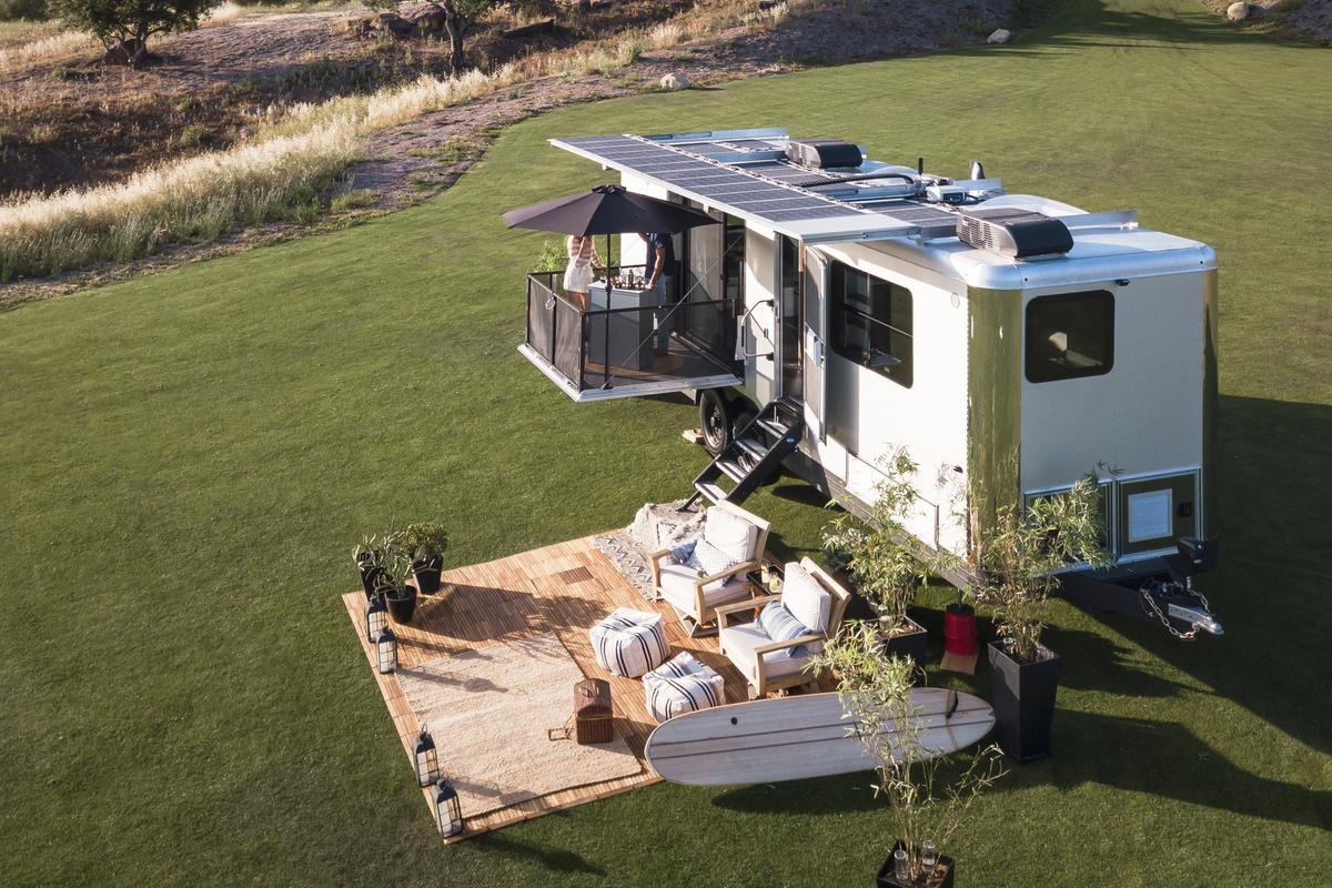 Californian outfit Living Vehicle has rolled out the latest version of its travel trailer