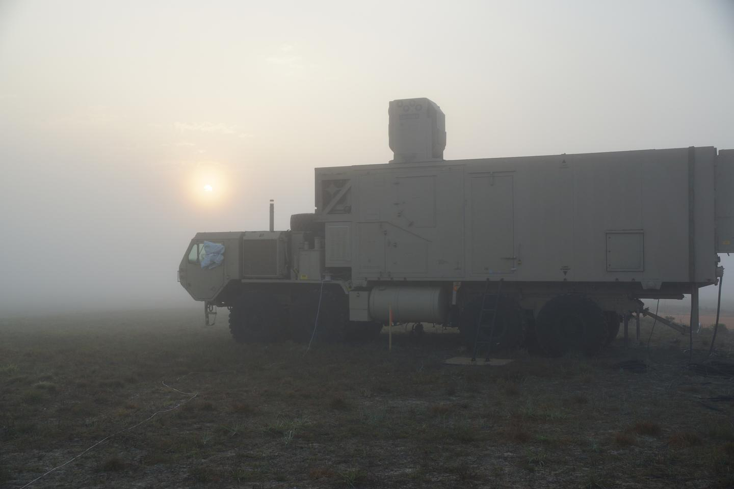The HEL-MD has successfully engaged targets in foggy conditions