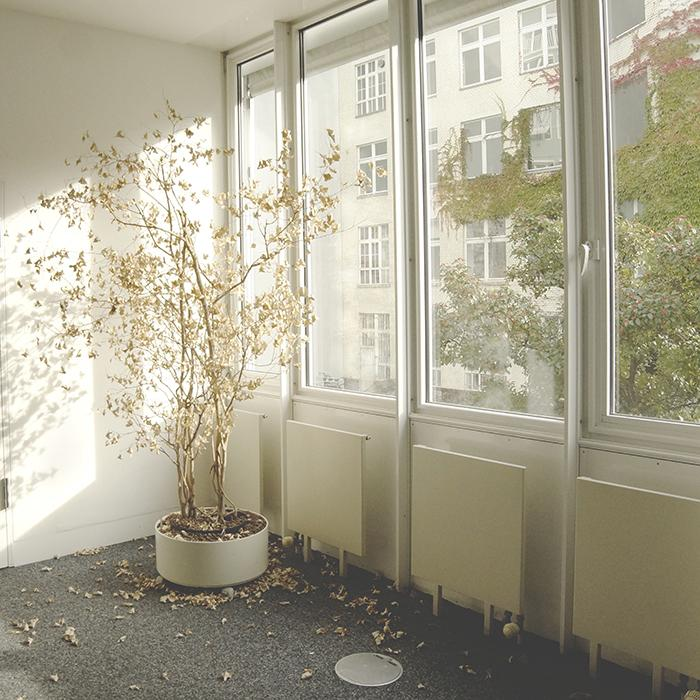 The technology uses silver nanowires to change the opacity of normal-looking windows
