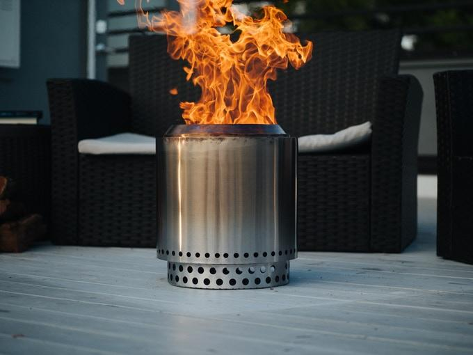 The Solo Stove Ranger fire pit