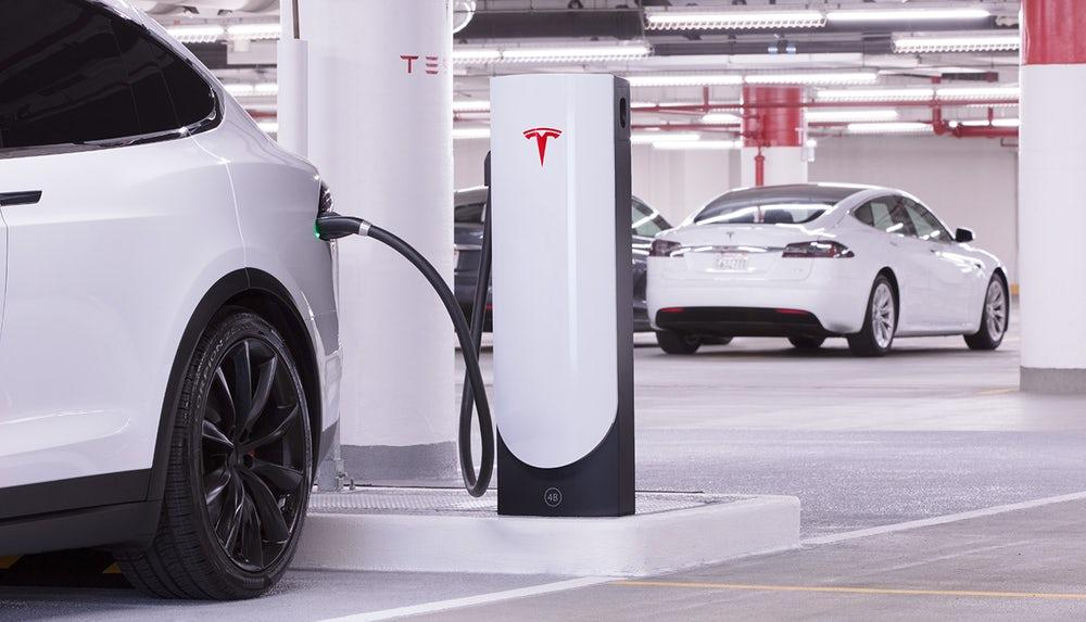 Tesla's Superchargers are now in their third generation