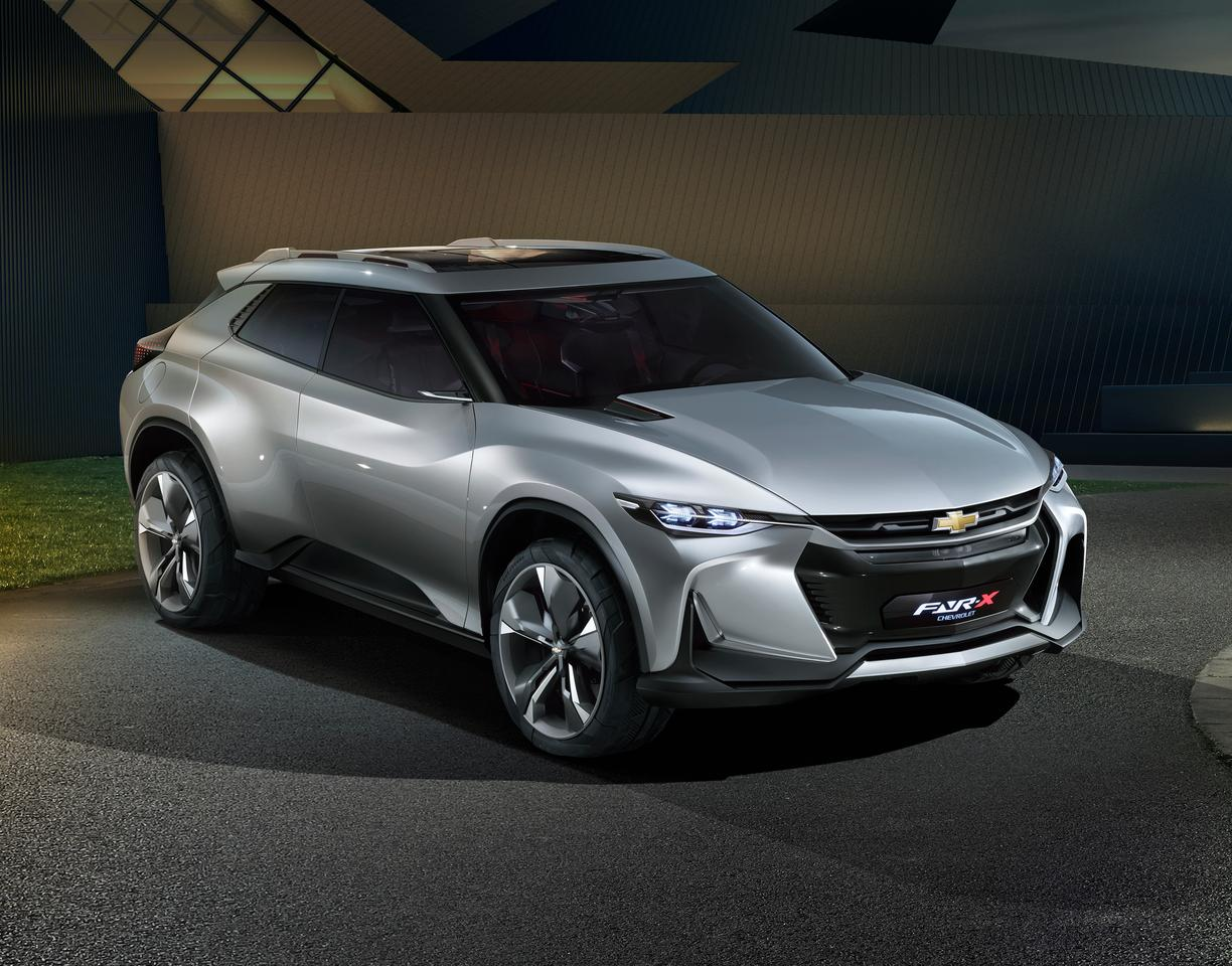 Chevy debuts the new FNR-X concept at Auto Shanghai