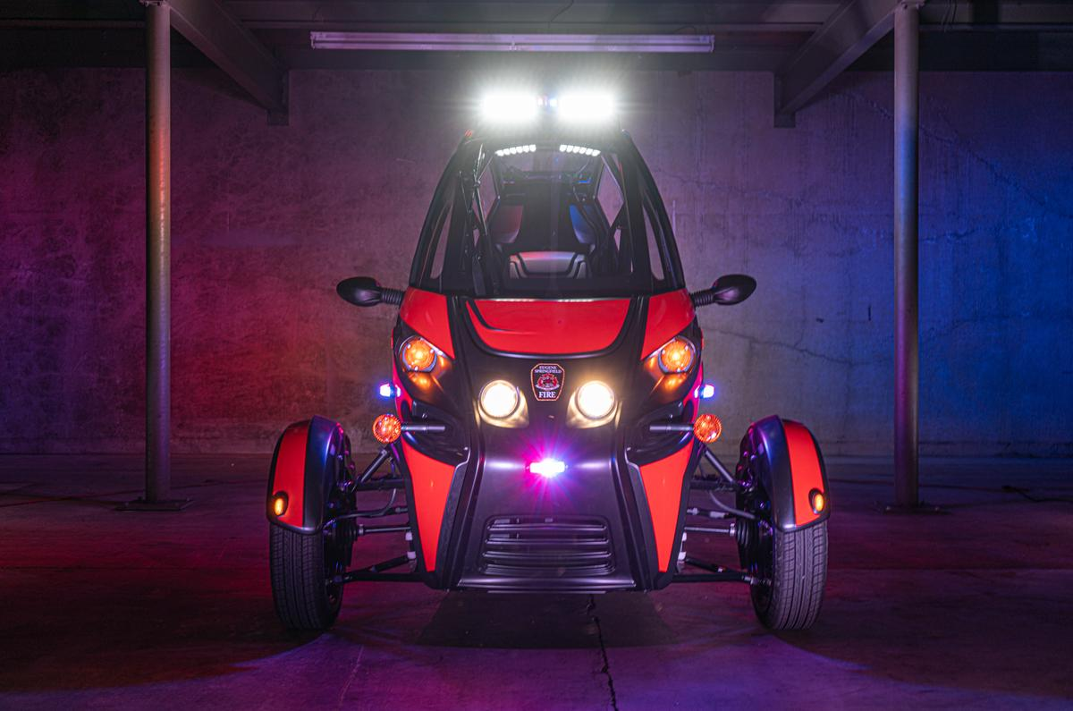 The Arcimoto Rapid Responder is now being tested by the Eugene Springfield Fire Department ahead of production later in 2021