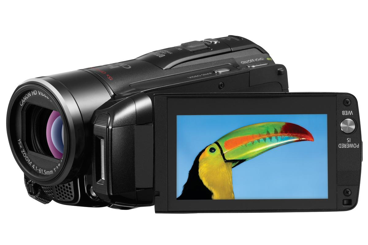 Canon's new VIXIA HF M32 features dual flash memory technology for hours and hours of uninterrupted recording