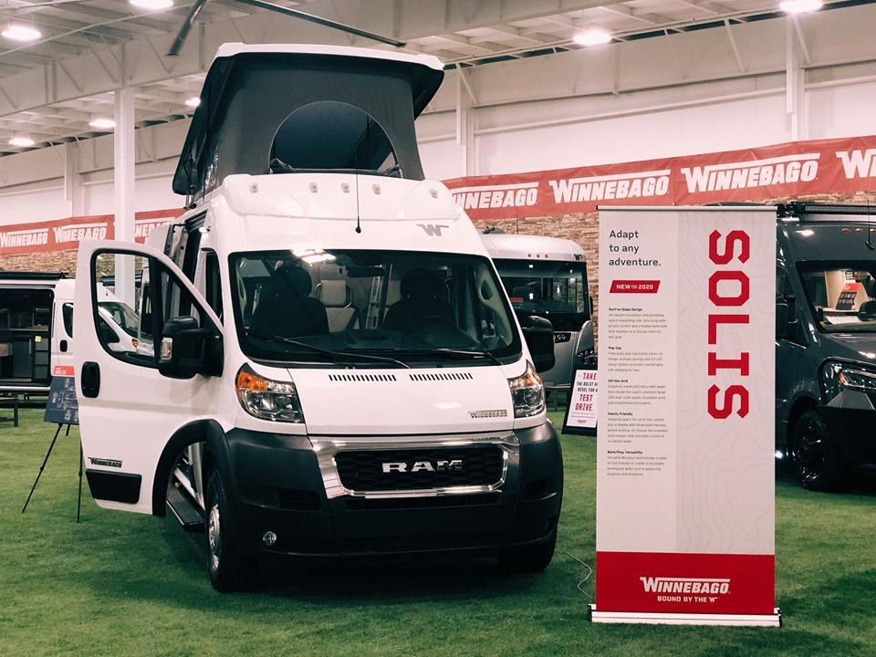 Winnebago debuts the new Solis at the 2019 Elkhart Open House