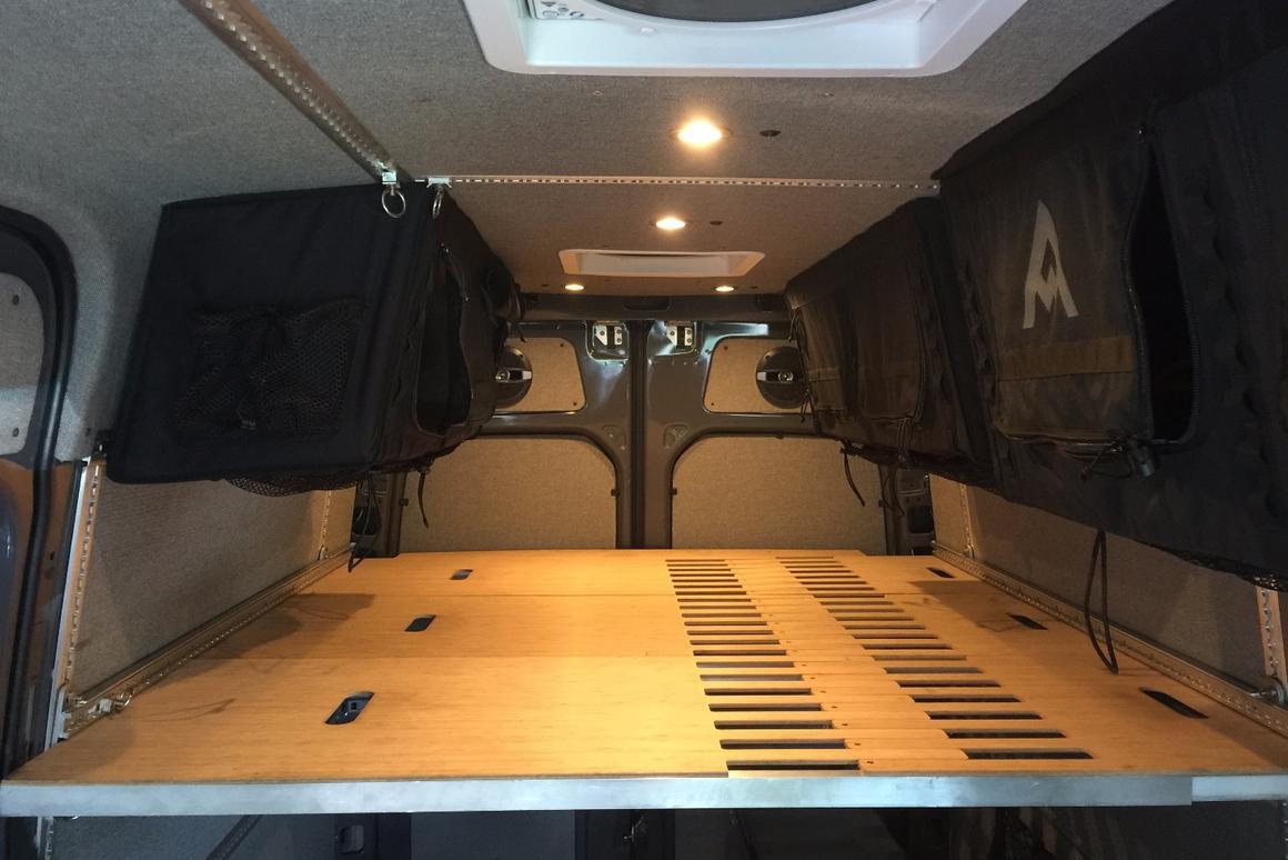 Modular camper kit turns the Sprinter into a DIY adventure