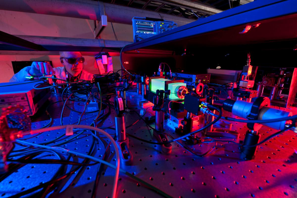 "Scientists will attempt to discover if the universe is ""real"" or a holographic 3-D illusion (Photo: Fermilab)"