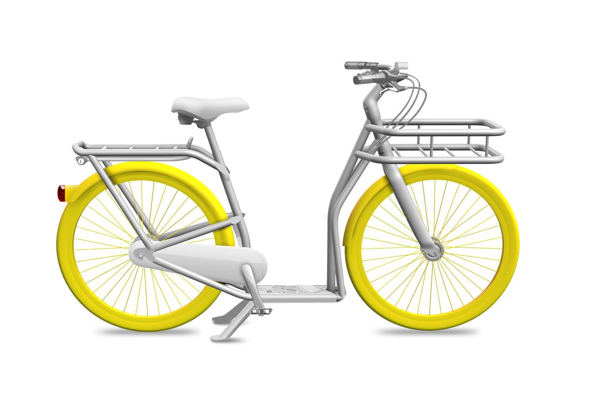 Designer Philippe Starck and the Mayor of Bordeaux have just unveiled a new bike/scooter concept that was inspired by ideas from over 300 citizens