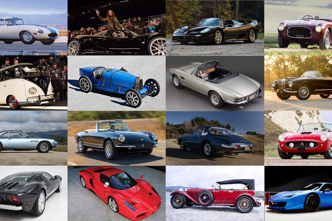 More cars went to auction in Scottsdale this year than ever before