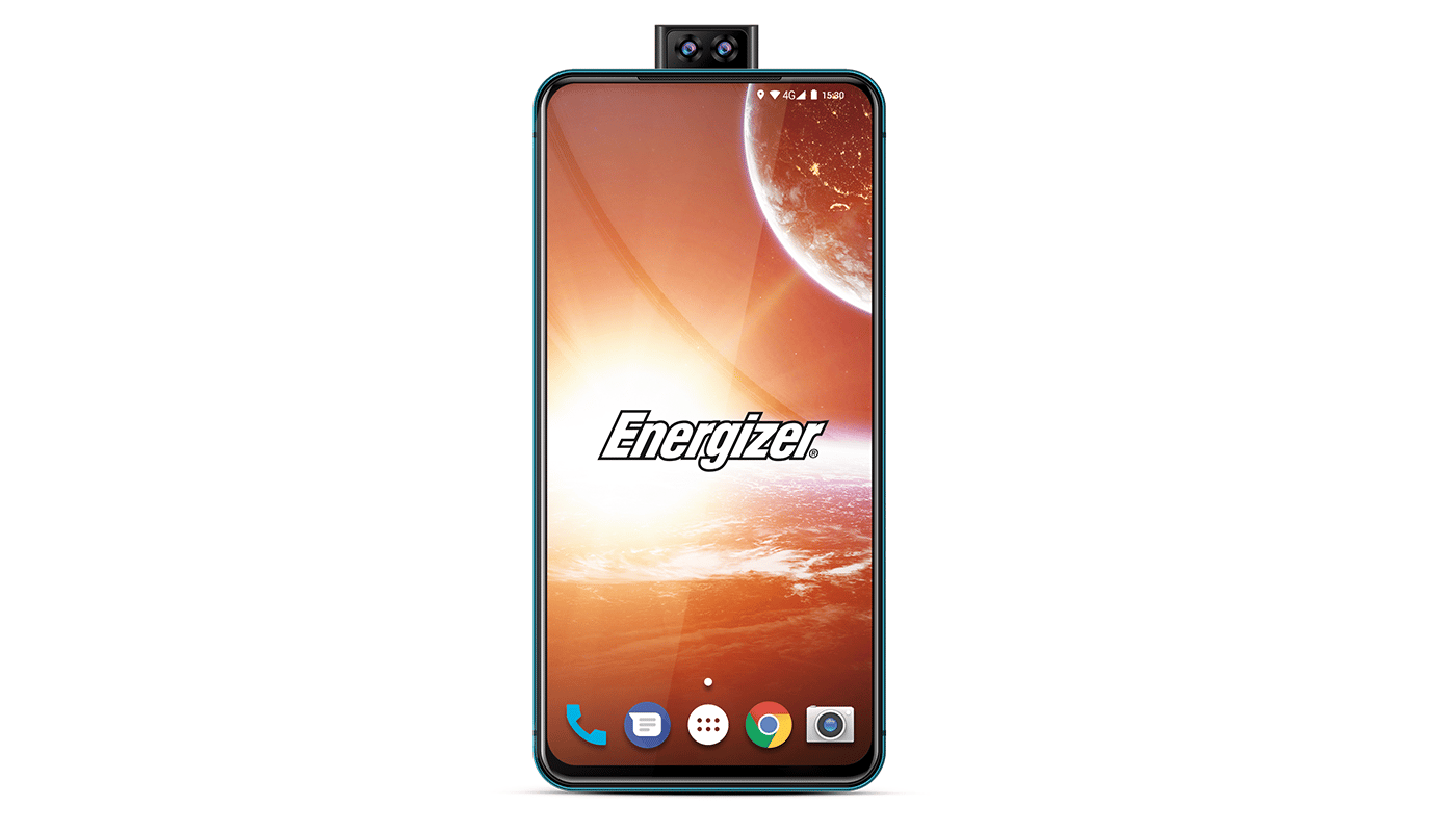 The Energizer P18K Pop is a phone with a massive 18,000 mAh battery