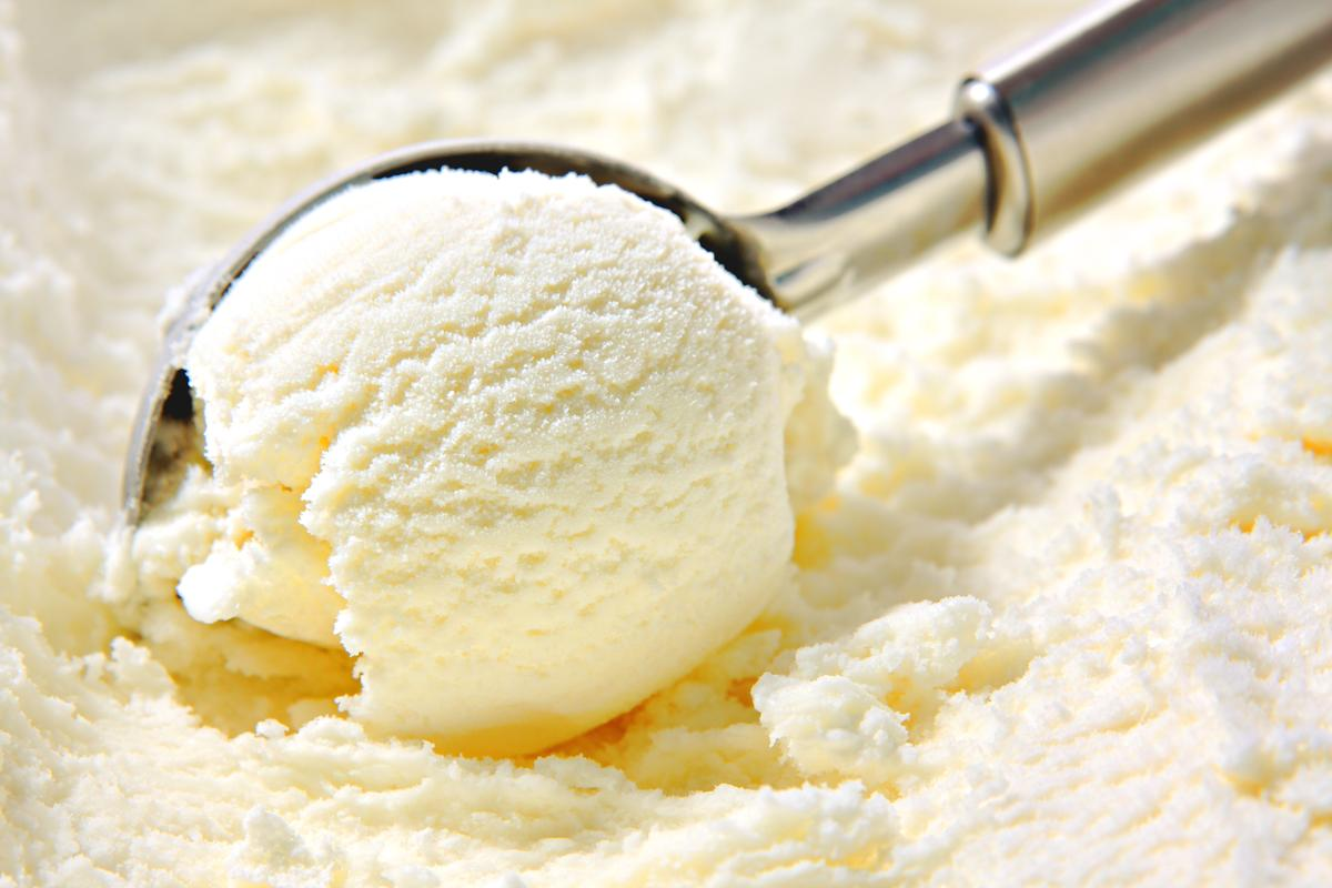 Ice cream with added banana-derived cellulose nanofibrils takes longer to melt