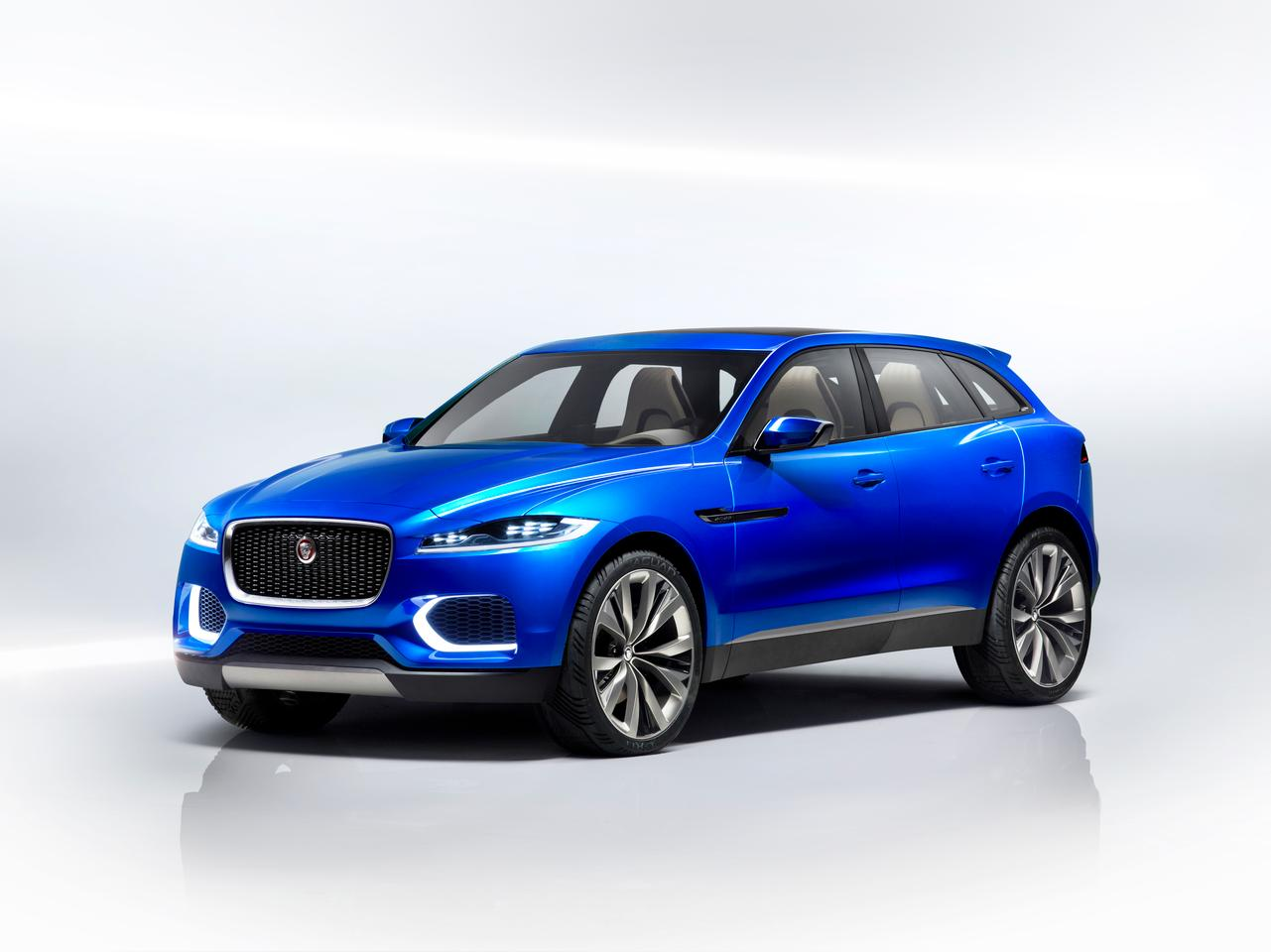 The C-X17 is Jaguar's first sports crossover concept