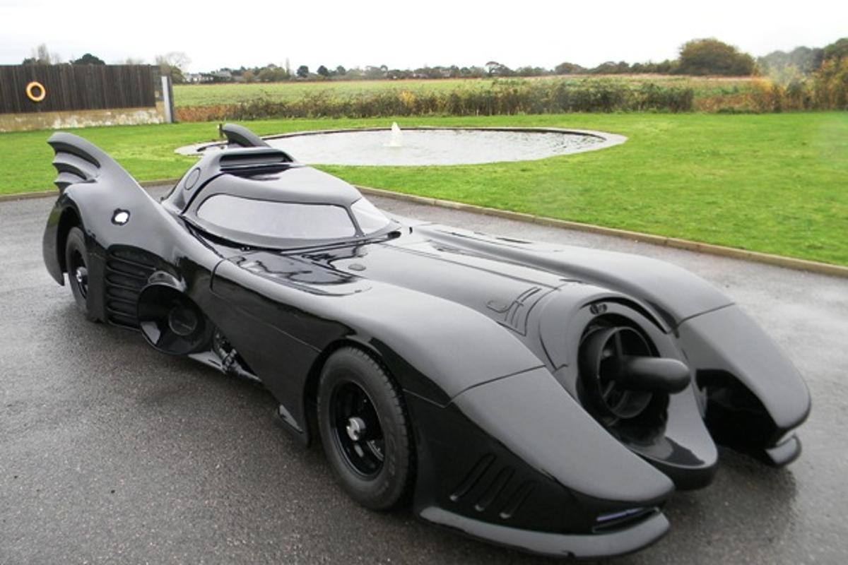 A fully road-legal Batmobile replica is available at auction