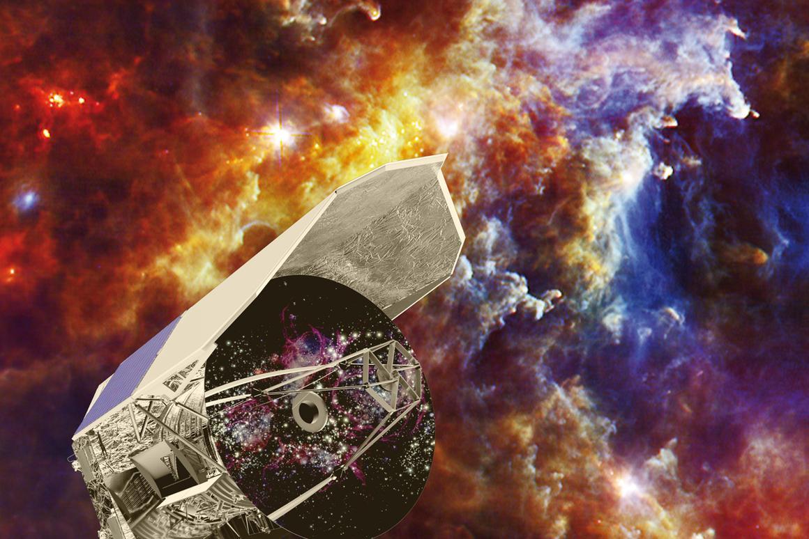 Artist's impression of Herschel (Image: ESA)