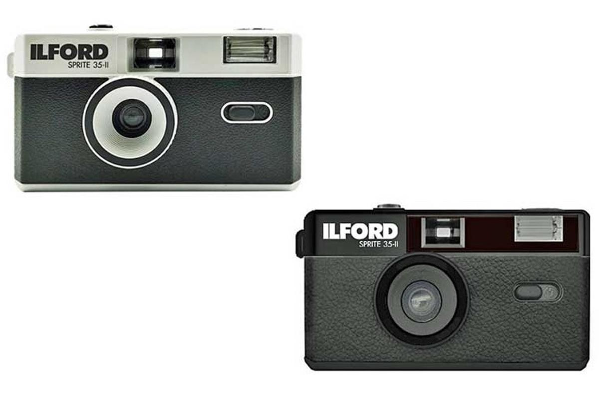 The Ilford Sprite 35-II, in its two color choices