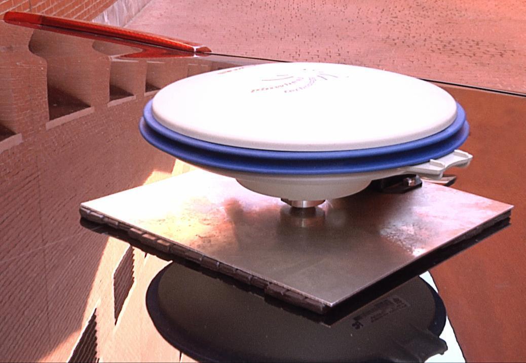 UC3M's combined GPS unit and inertial measurement unit