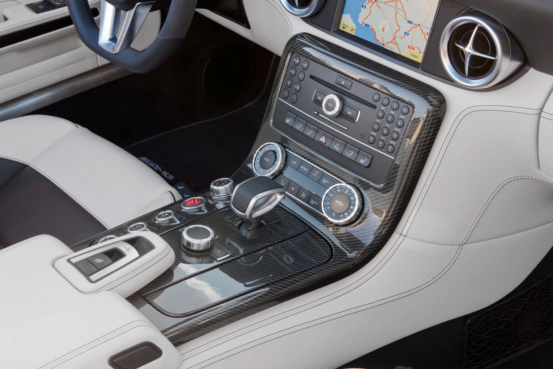 The Mercedes-Benz SLS AMG Roadster