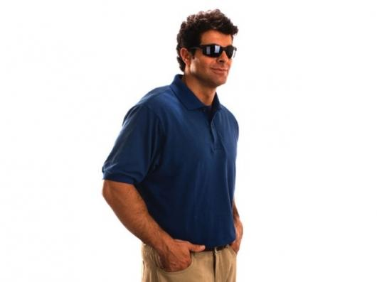 The stylish Miguel Caballero bullet-proof polo shirt.