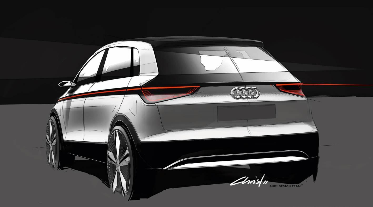 Audi's A2 concept electric car is set to appear at the 64th International Motor Show in Frankfurt this September
