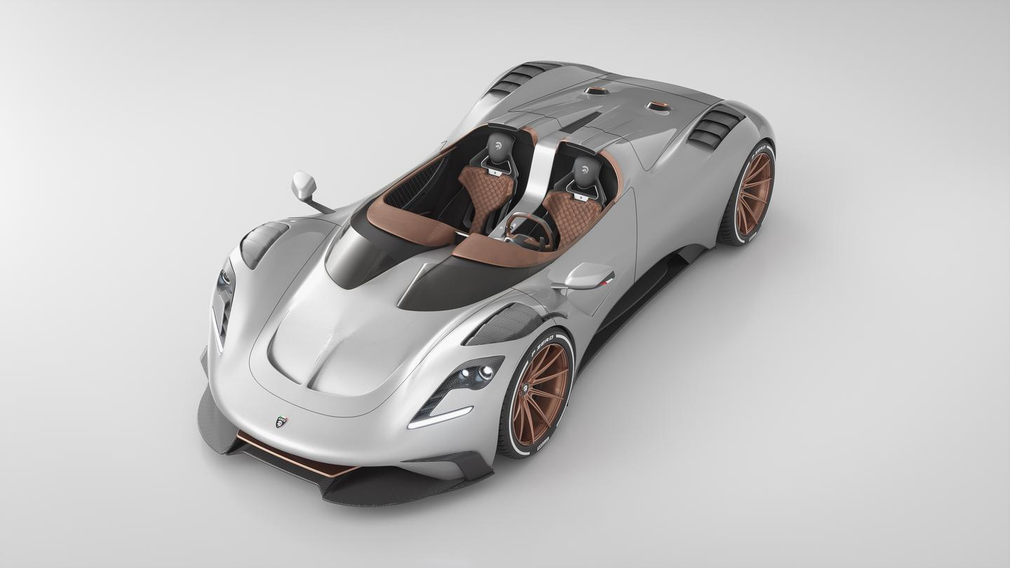 The Ares Project S1 Spyder is a roofless hypercar built on a Corvette motor and chassis