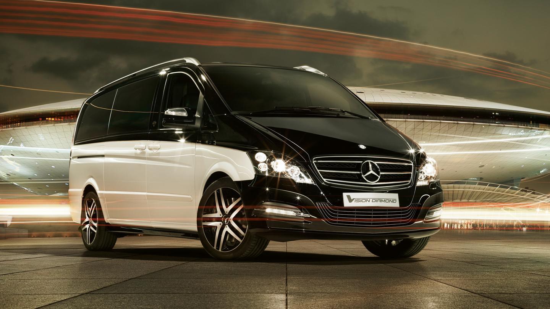 The Mercedes Benz Viano Vision Diamond Concept