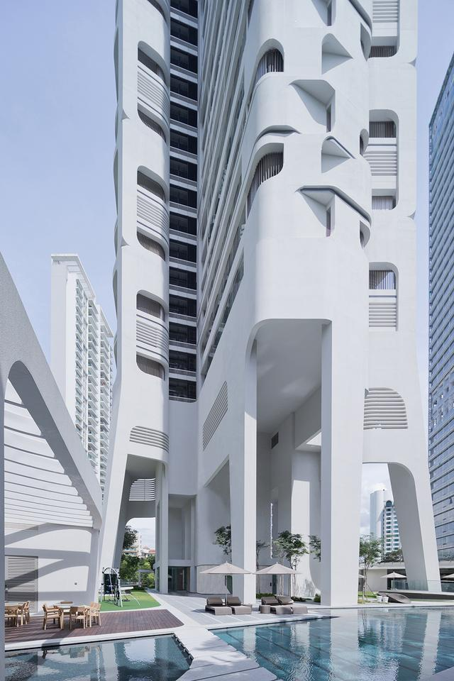 The 36-story Ardmore Residence, Singapore, by UNStudio (Photo: Iwan Baan ©)