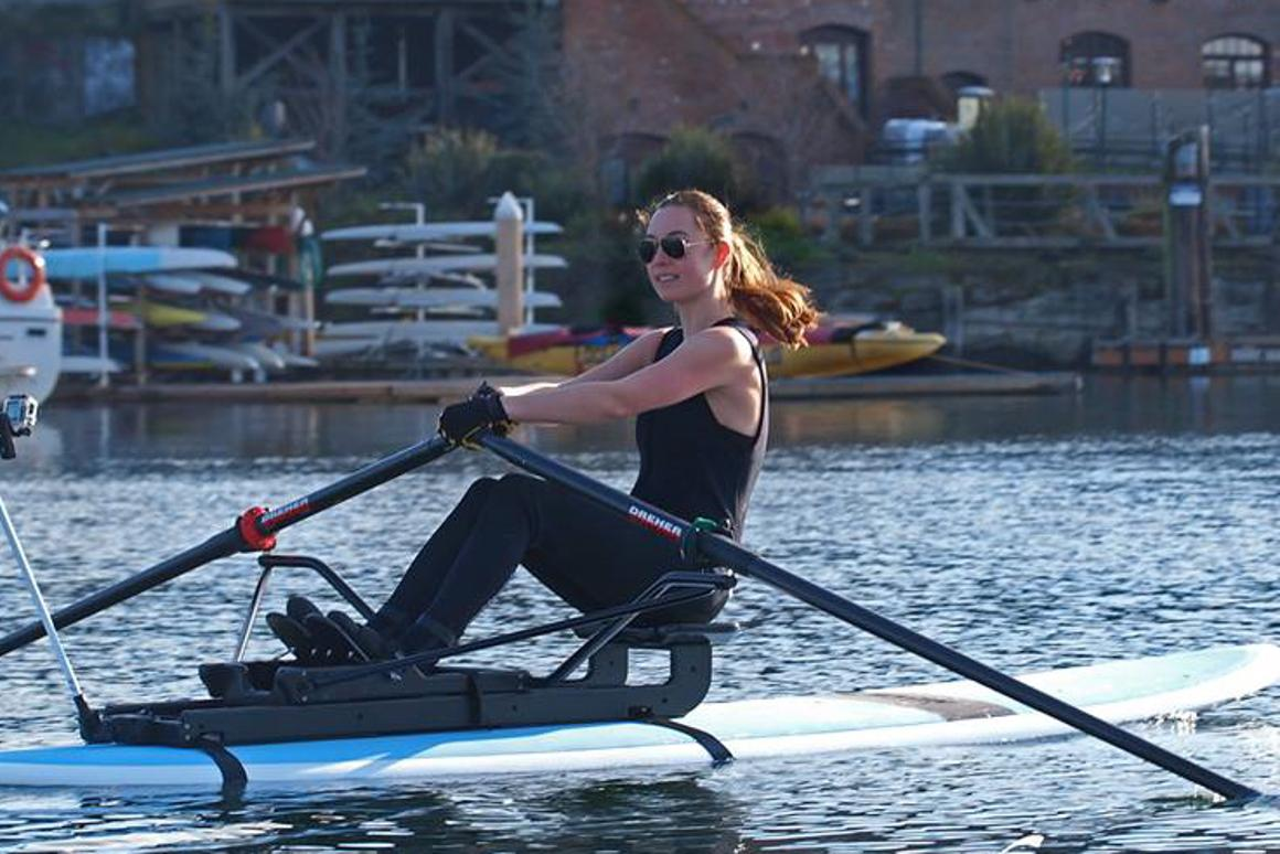 The Oar Board lets you row on your stand-up paddleboard