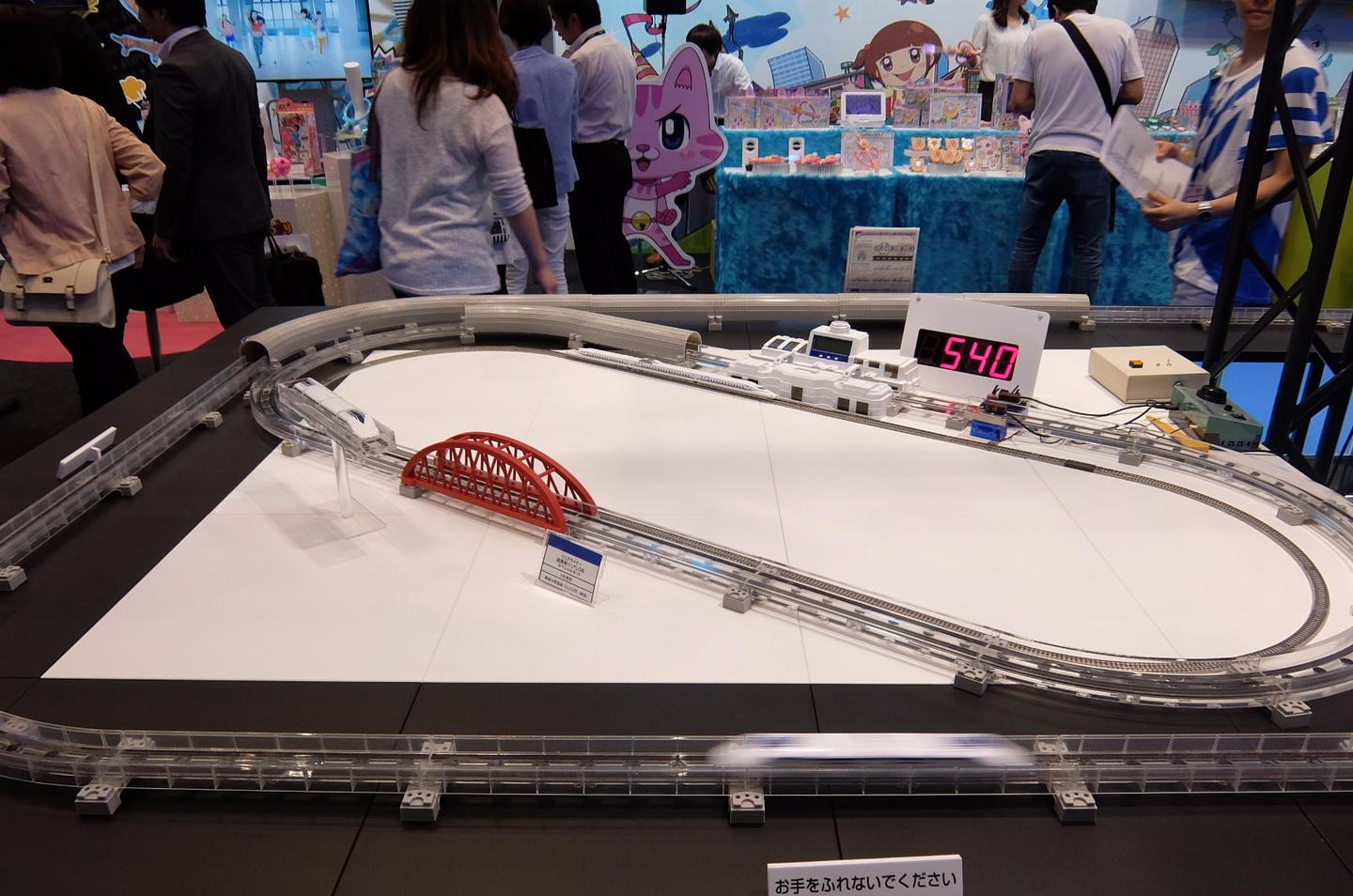 Takara Tomy's maglev Linear Liner – the fastest toy train in